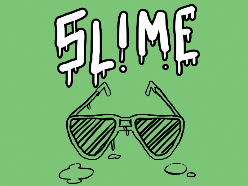 Slime-featured